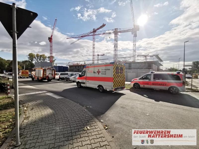 Einsatzstelle Anfahrt Rettungsdienst und Notarzt