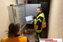 Erkundung der Lage an der Brandmeldeanlage
