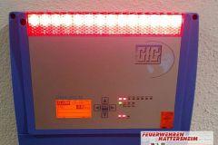 Ausgelöste Gaswarnanlage