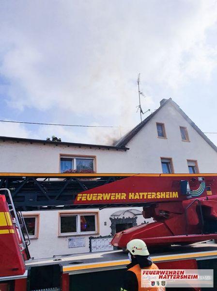 Brandentstehung am Gebäude