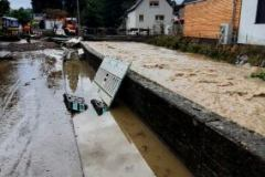 Hochwasser im Liederbach