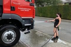 Fahrzeugreinigung und -pflege gehören auch dazu