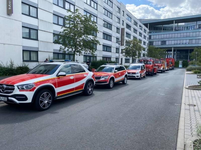 Wagenspalier für die Feuerwehr Eschborn
