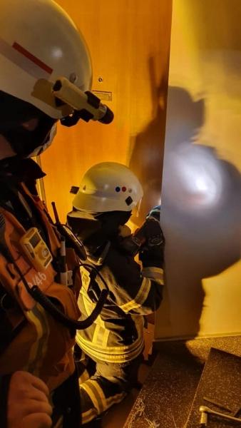 Türöffnung durch die Feuerwehr