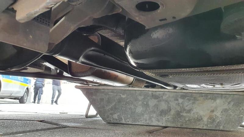 Vermutliche Ursache - defekter Treibstofftank