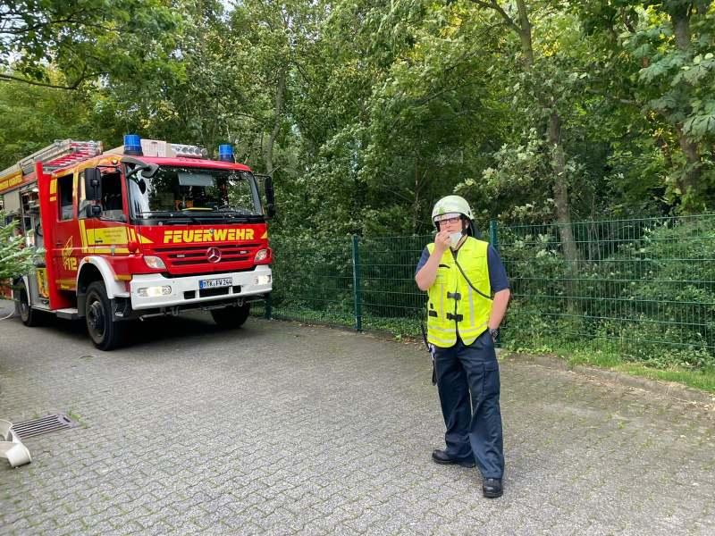 Einsatzleiter der Feuerwehr Okriftel