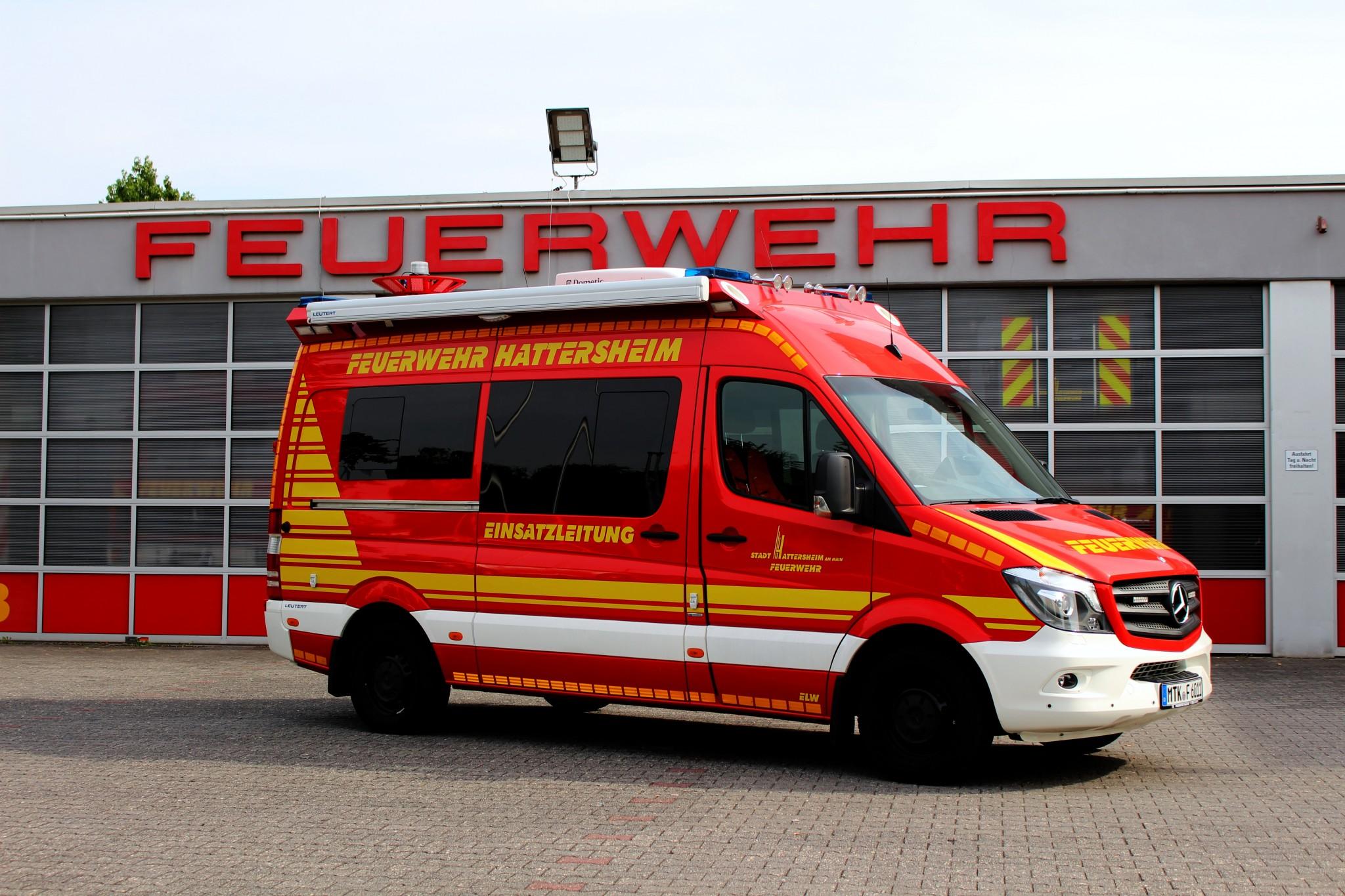 Fahrzeuge feuerwehr hattersheim for Mercedes benz elw