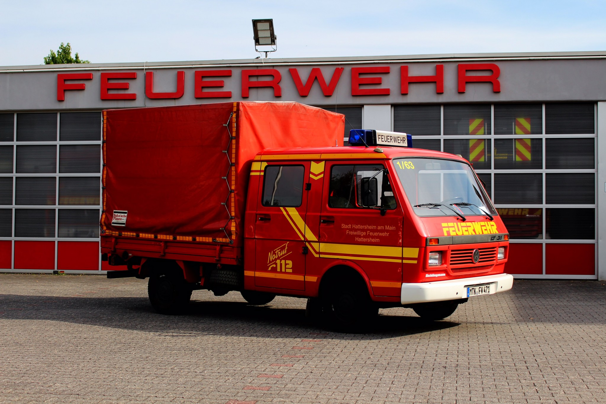 Gerätewagen-Nachschub Hattersheim 1/63